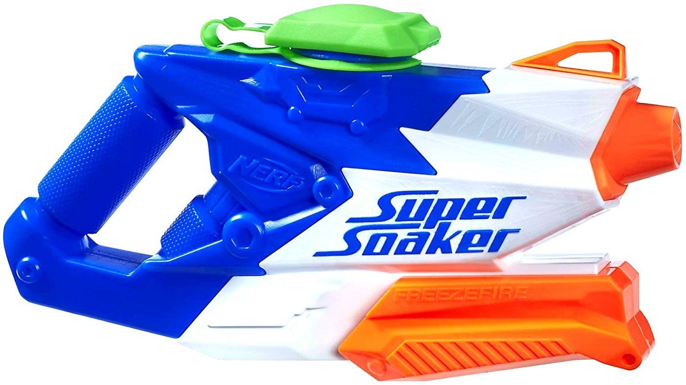 1. Hasbro Super Soaker FreezeFire 2.0 Wasserspritzpistole