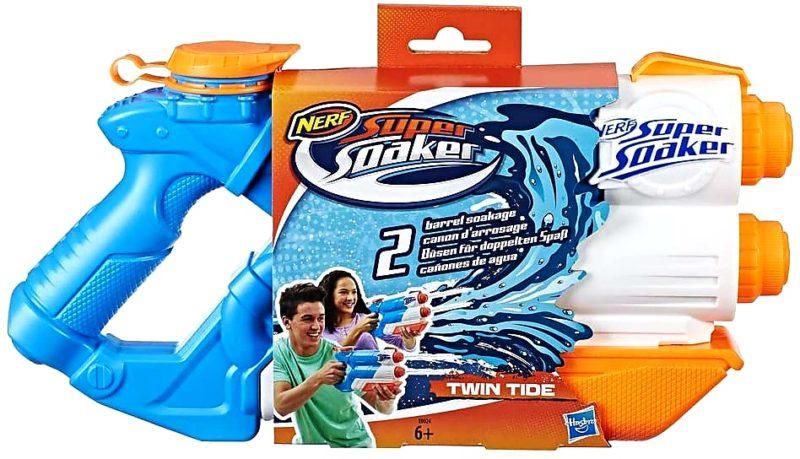 1. Hasbro Super Soaker Twin Tide Wasserspritzpistole