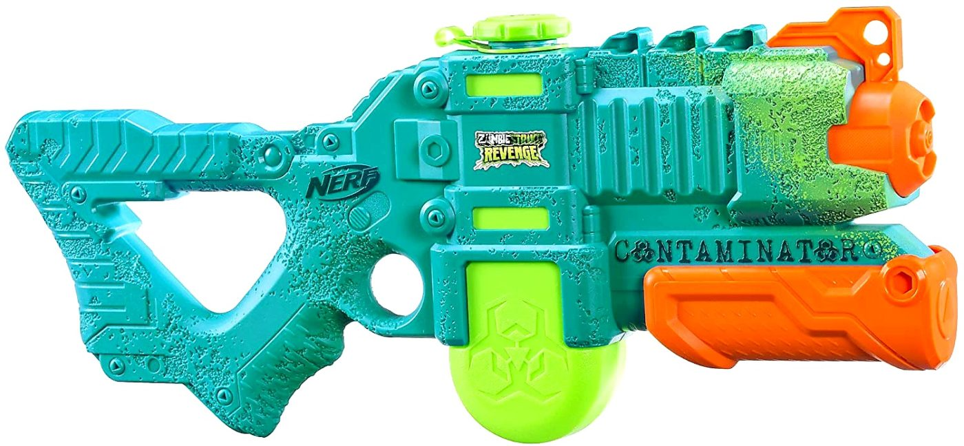 1. Hasbro Super Soaker Wasserpistole Zombie Strike Revenge