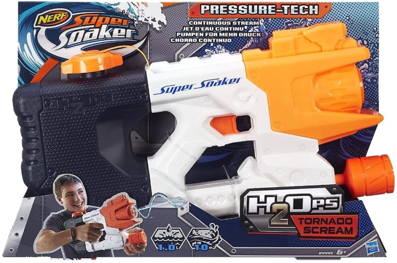 2. Hasbro Super Soaker Wasserpistole Tornado Scream
