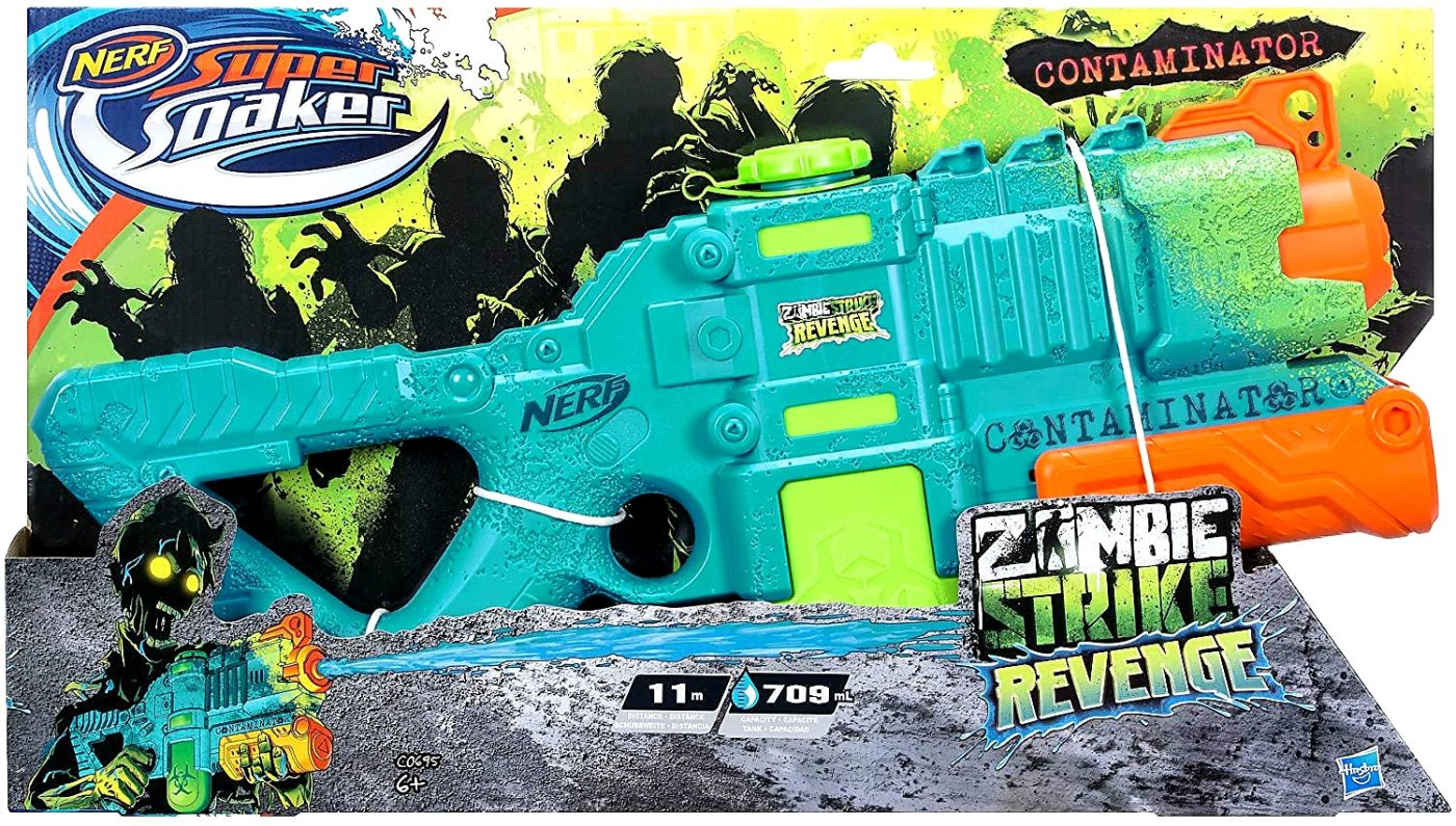 2. Hasbro Super Soaker Wasserpistole Zombie Strike Revenge