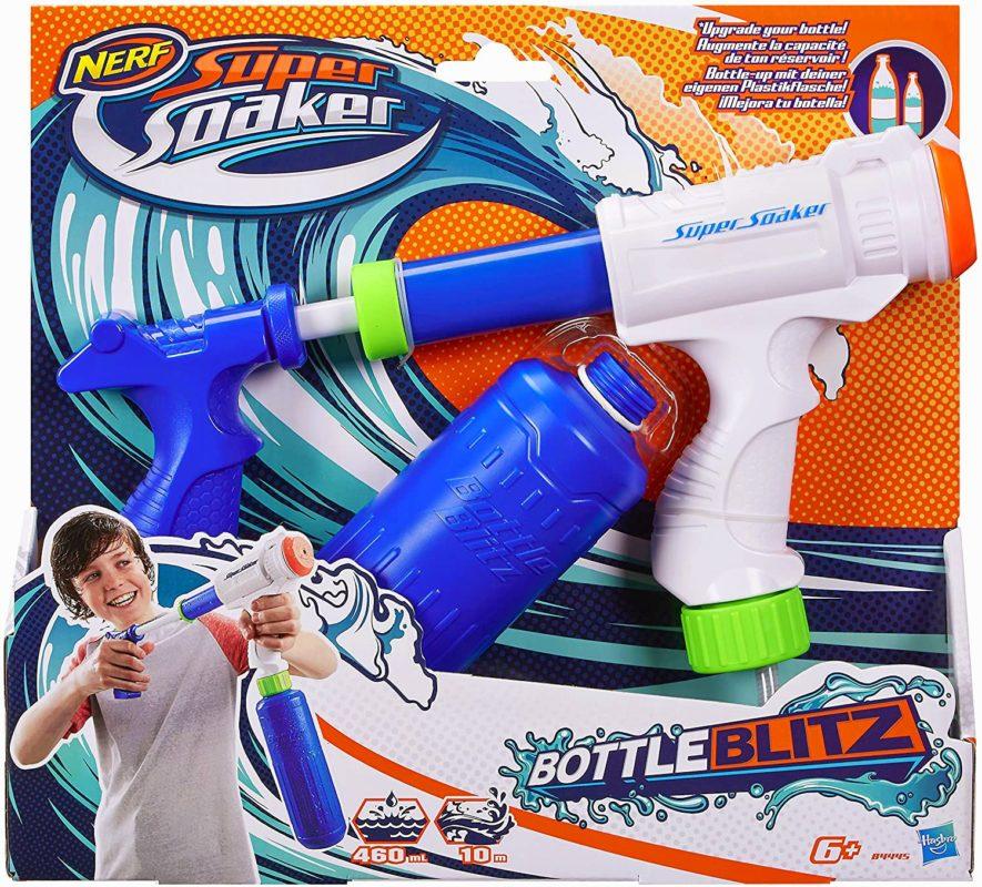 2. Wasserpistole mit Tank Bottle Blitz 2.0