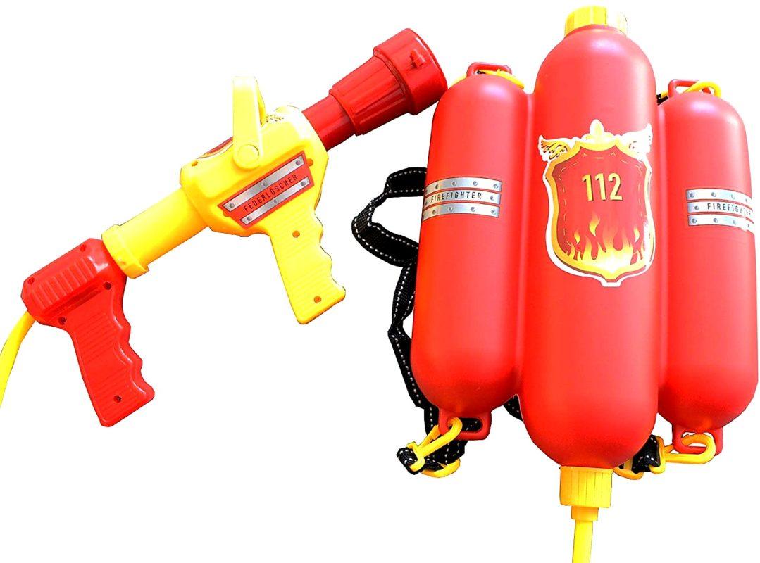Feurwehr Wasserpistole mit Tank 2